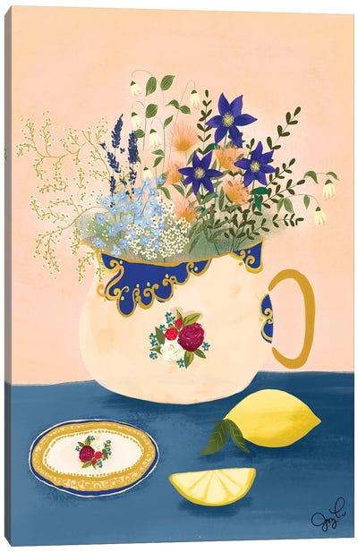Staffordshire Wildflower Canvas Art Print