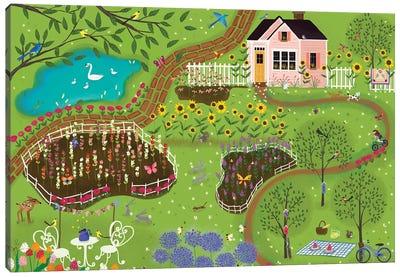Summer Gardens Canvas Art Print