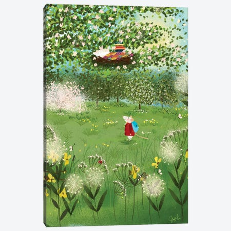 Terrarium Home Sweet Home Canvas Print #JLF46} by Joy Laforme Canvas Print