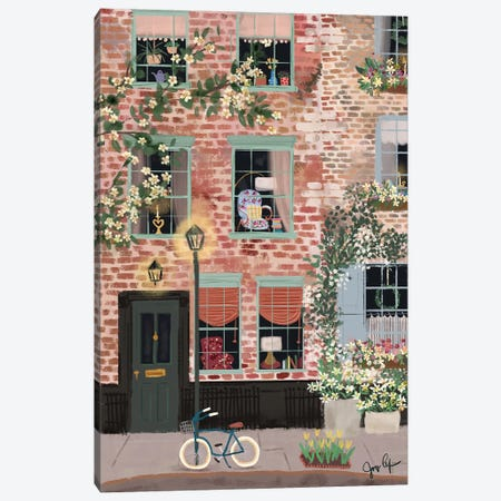 Around The Corner Canvas Print #JLF4} by Joy Laforme Canvas Artwork