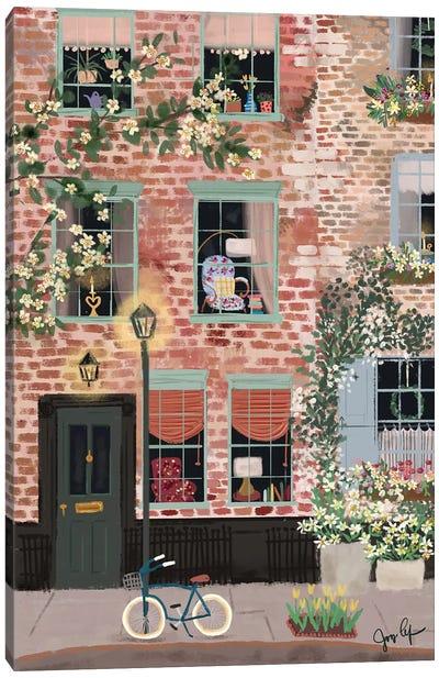 Around The Corner Canvas Art Print