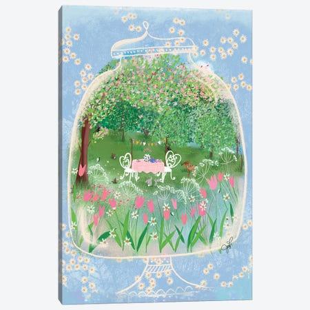Terrarium Tea Party Canvas Print #JLF50} by Joy Laforme Canvas Print