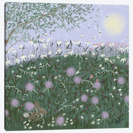Wild And Free II Canvas Print #JLF52} by Joy Laforme Art Print