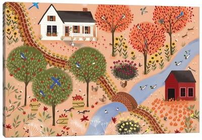Autumn Gardens Canvas Art Print