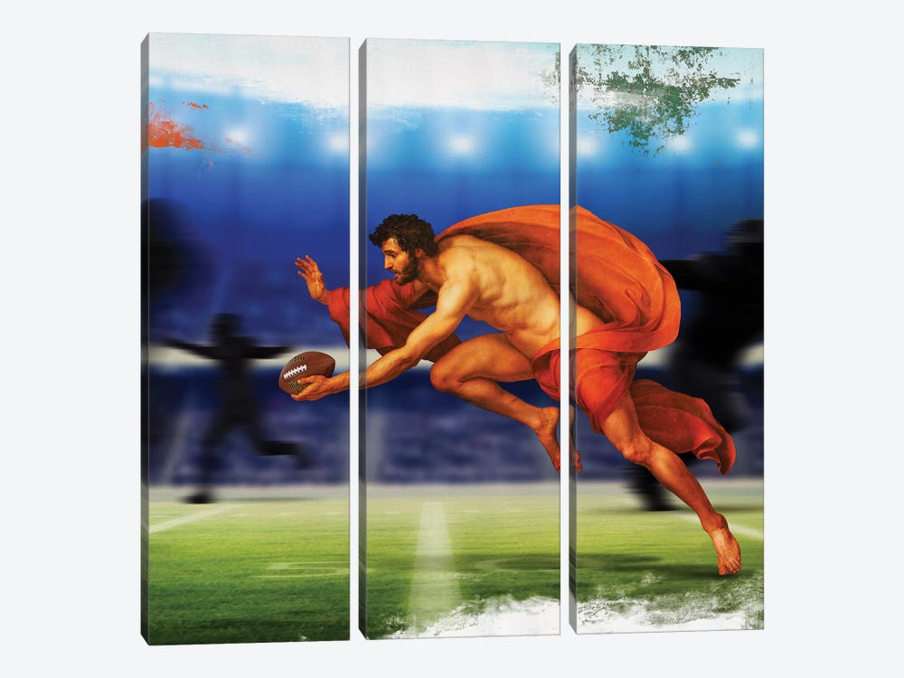 The Player 3-piece Canvas Wall Art
