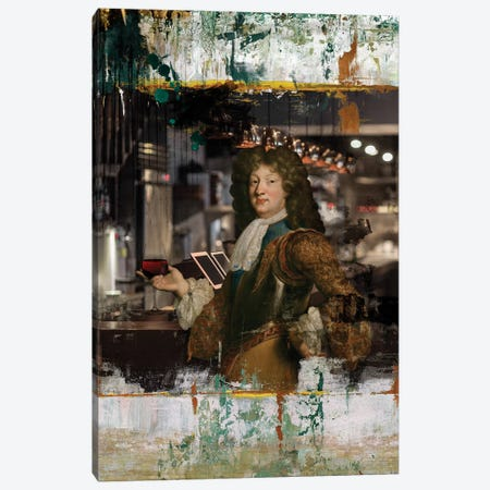 Cheers Canvas Print #JLG11} by José Luis Guerrero Canvas Art