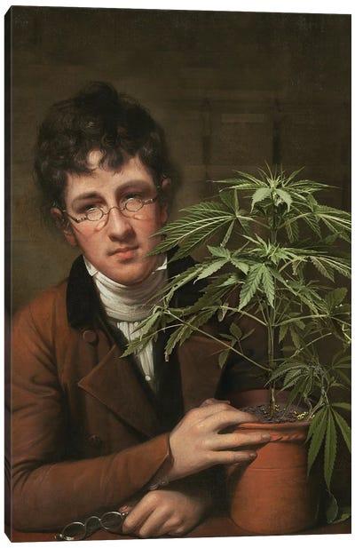 Rubens Peale With A Cannabis Canvas Art Print