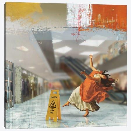 Wet Floor Canvas Print #JLG152} by José Luis Guerrero Canvas Print