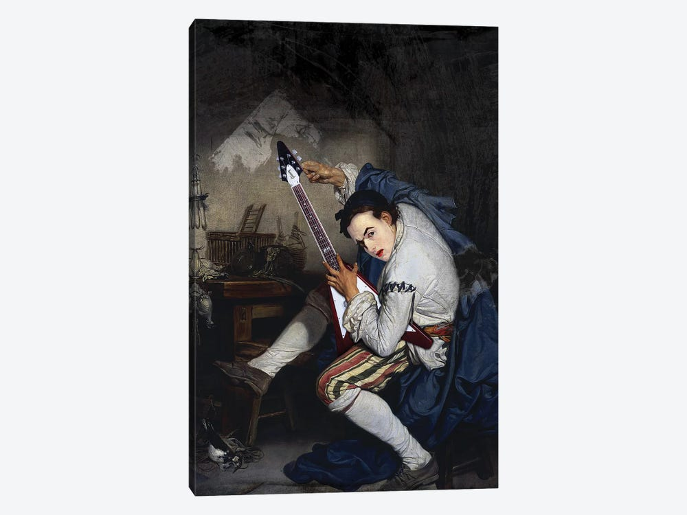 El Guitarrista by José Luis Guerrero 1-piece Canvas Wall Art