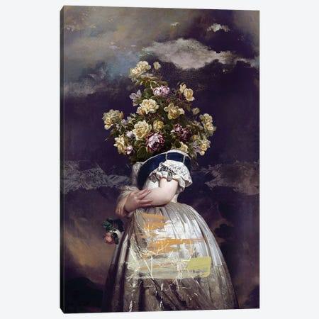 Flowers Canvas Print #JLG24} by José Luis Guerrero Canvas Wall Art