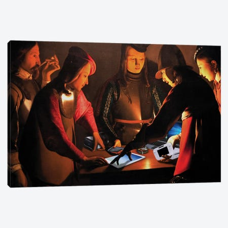 Geek Dealer Canvas Print #JLG25} by José Luis Guerrero Canvas Art