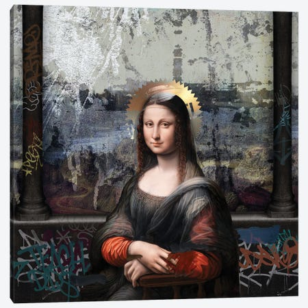 Gioconda Canvas Print #JLG26} by José Luis Guerrero Canvas Wall Art