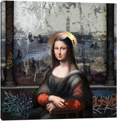 Gioconda Canvas Art Print
