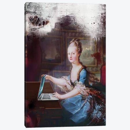 iBook Canvas Print #JLG31} by José Luis Guerrero Canvas Wall Art