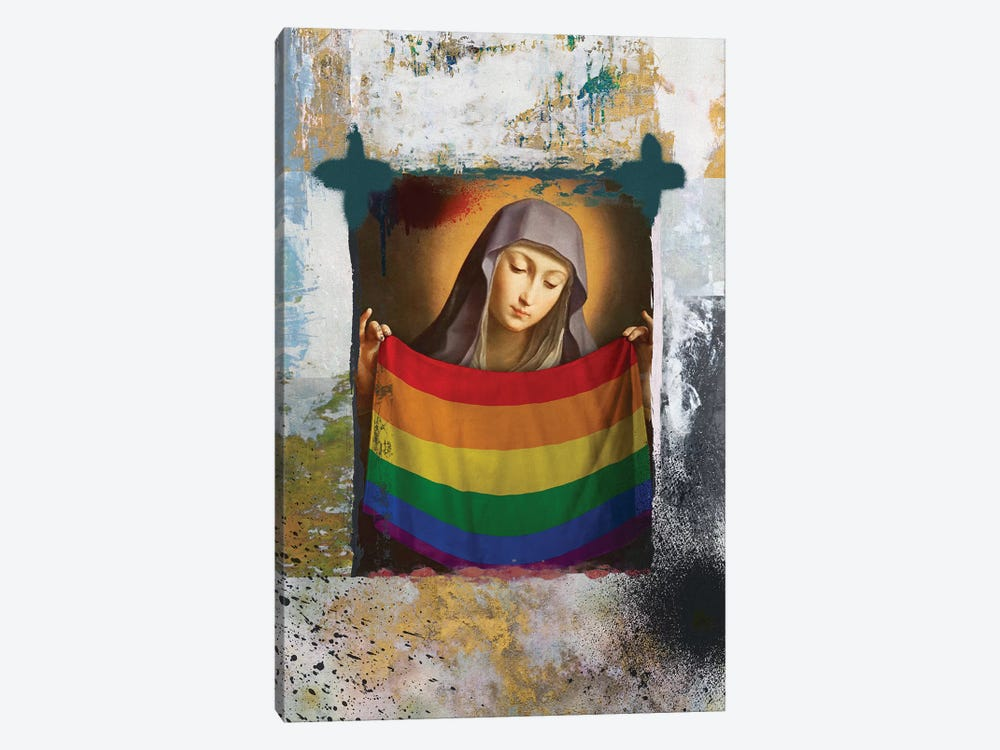 LGBTTTIQ 1-piece Canvas Print