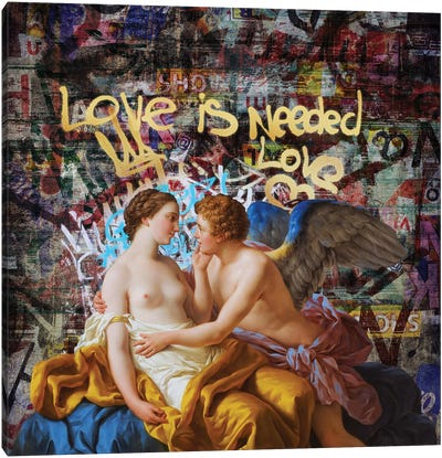 Love Is Needed Canvas Art Print