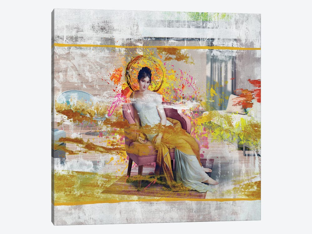 Madame Recamier 1-piece Canvas Print
