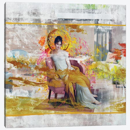 Madame Recamier Canvas Print #JLG39} by José Luis Guerrero Canvas Wall Art