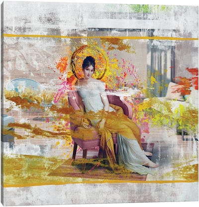 Madame Recamier Canvas Art Print