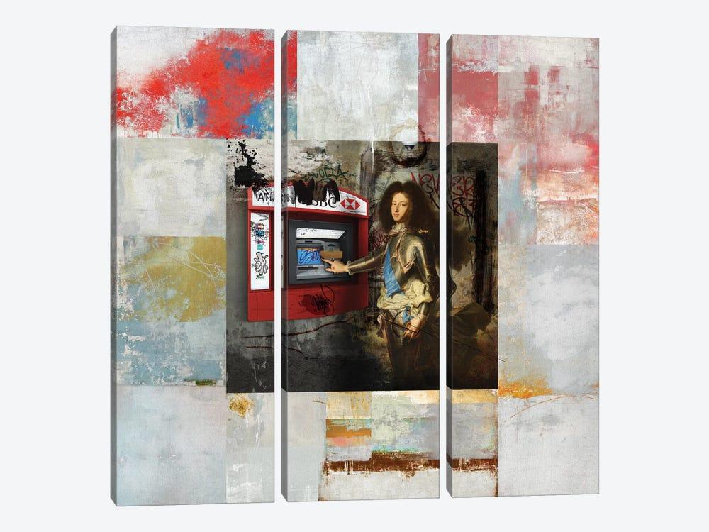 ATM by José Luis Guerrero 3-piece Canvas Artwork