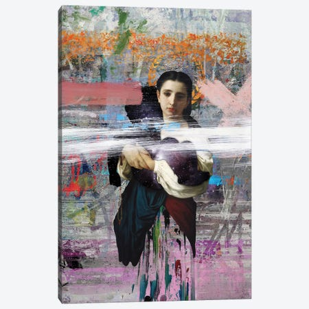 Mother Canvas Print #JLG42} by José Luis Guerrero Art Print