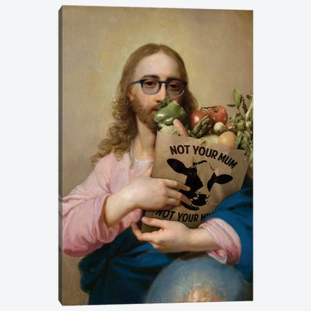 New Religion Canvas Print #JLG44} by José Luis Guerrero Canvas Wall Art