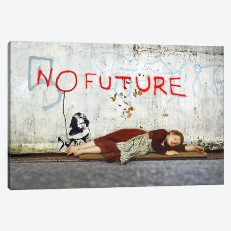 No Future Canvas Print #JLG45} by José Luis Guerrero Canvas Wall Art