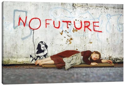 No Future Canvas Art Print