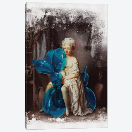 Pet Canvas Print #JLG47} by José Luis Guerrero Canvas Wall Art
