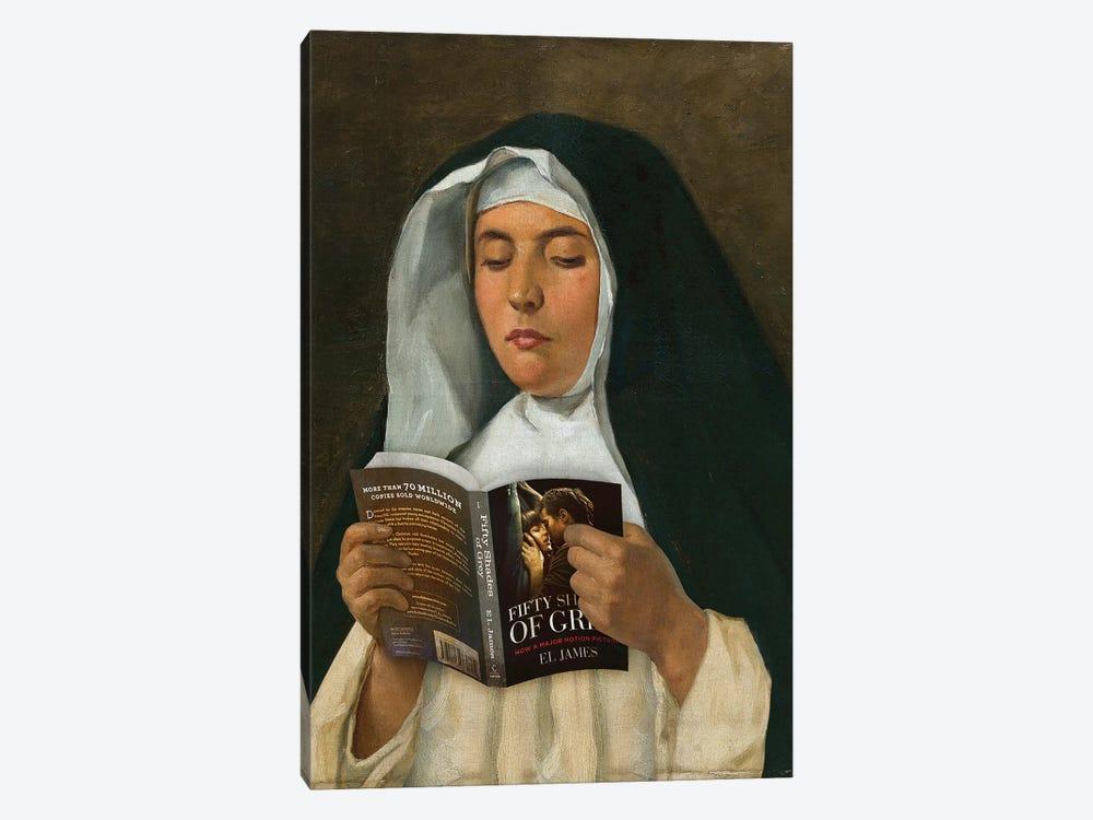 Religious Reading by José Luis Guerrero 1-piece Canvas Art Print