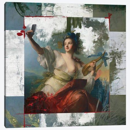Sexiest Selfie Canvas Print #JLG56} by José Luis Guerrero Canvas Art Print