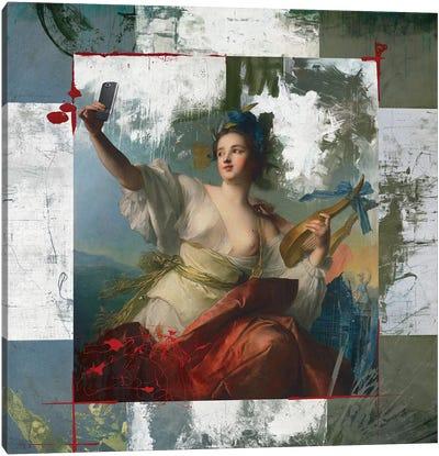 Sexiest Selfie Canvas Art Print