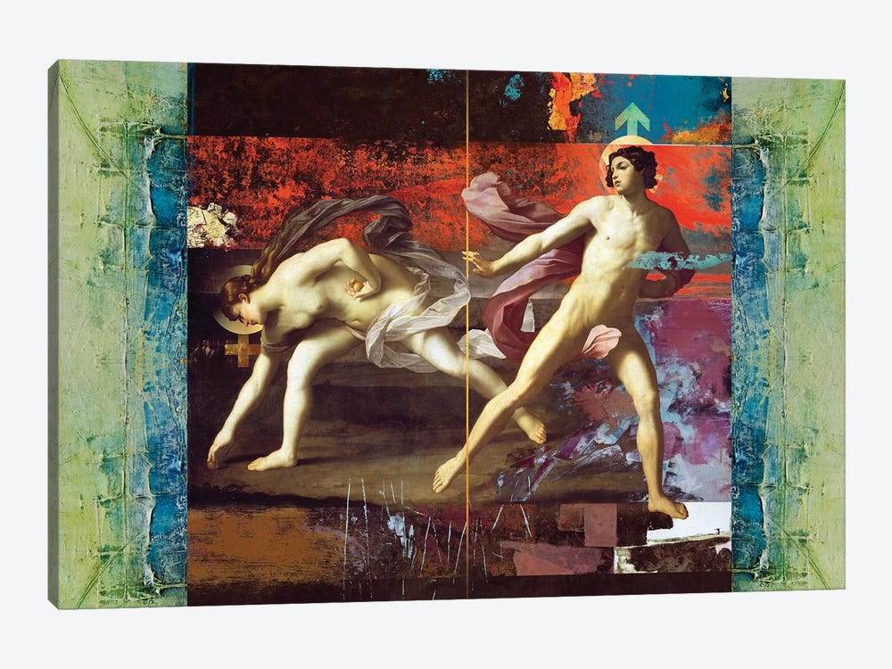 She & He by José Luis Guerrero 1-piece Canvas Art Print