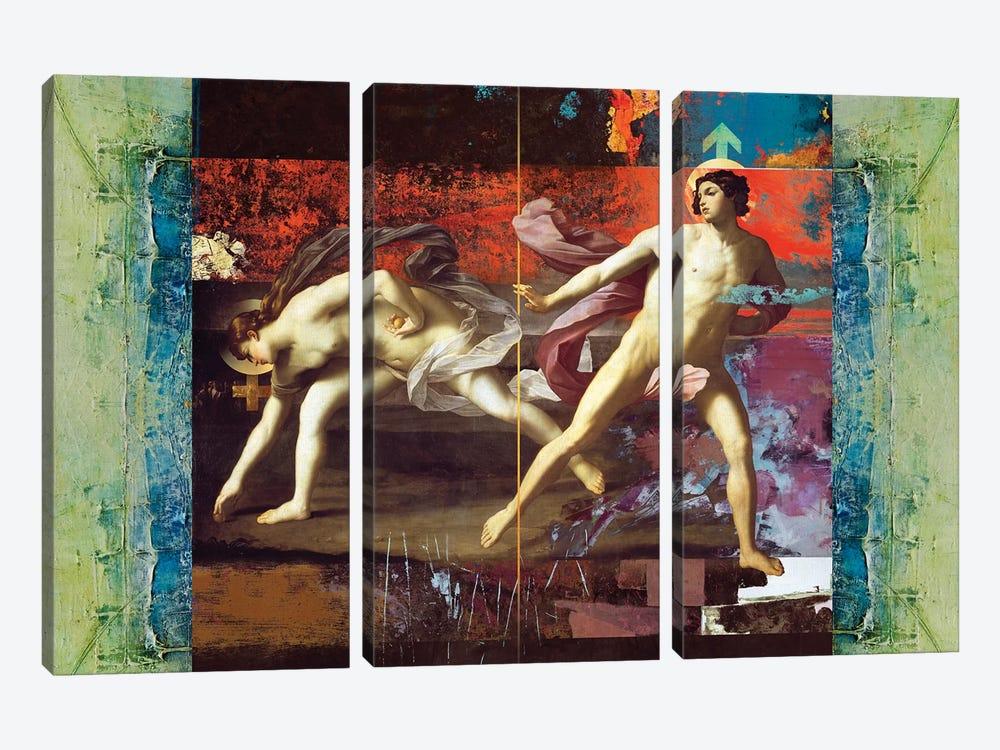 She & He by José Luis Guerrero 3-piece Canvas Art Print