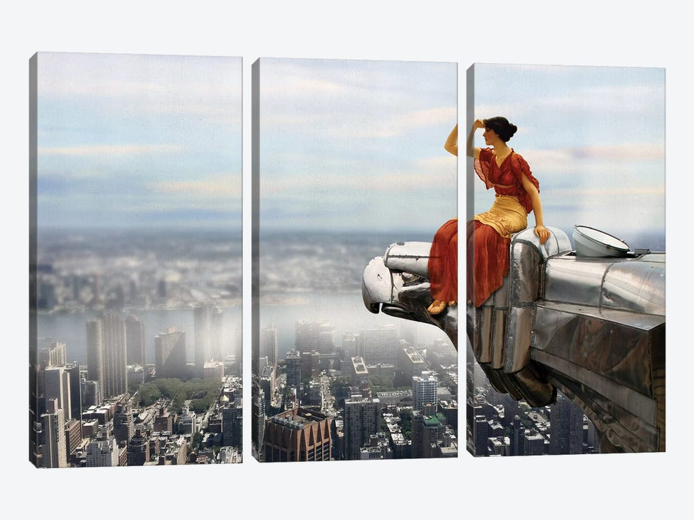 Bird's Eye View by José Luis Guerrero 3-piece Canvas Wall Art