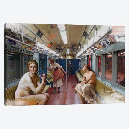 Subway 3-Piece Canvas #JLG60} by José Luis Guerrero Canvas Print