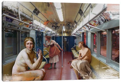 Subway Canvas Art Print