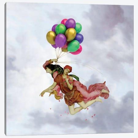 The Flight Canvas Print #JLG64} by José Luis Guerrero Canvas Art