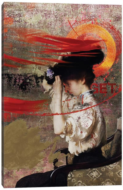 The Hat Canvas Art Print