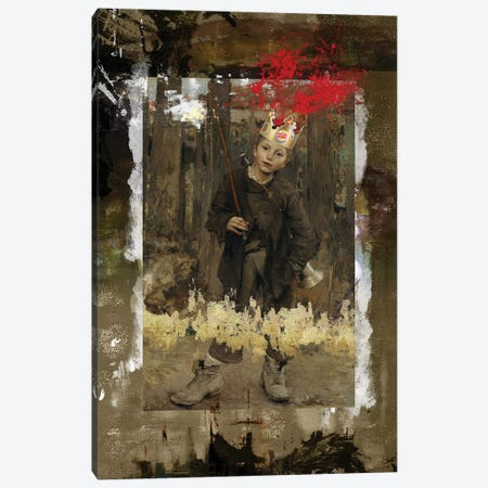 The King Canvas Print #JLG67} by José Luis Guerrero Canvas Art
