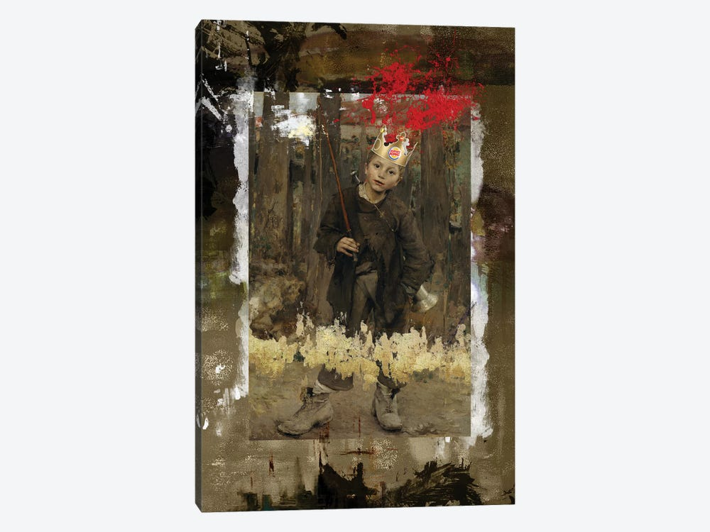 The King by José Luis Guerrero 1-piece Canvas Wall Art