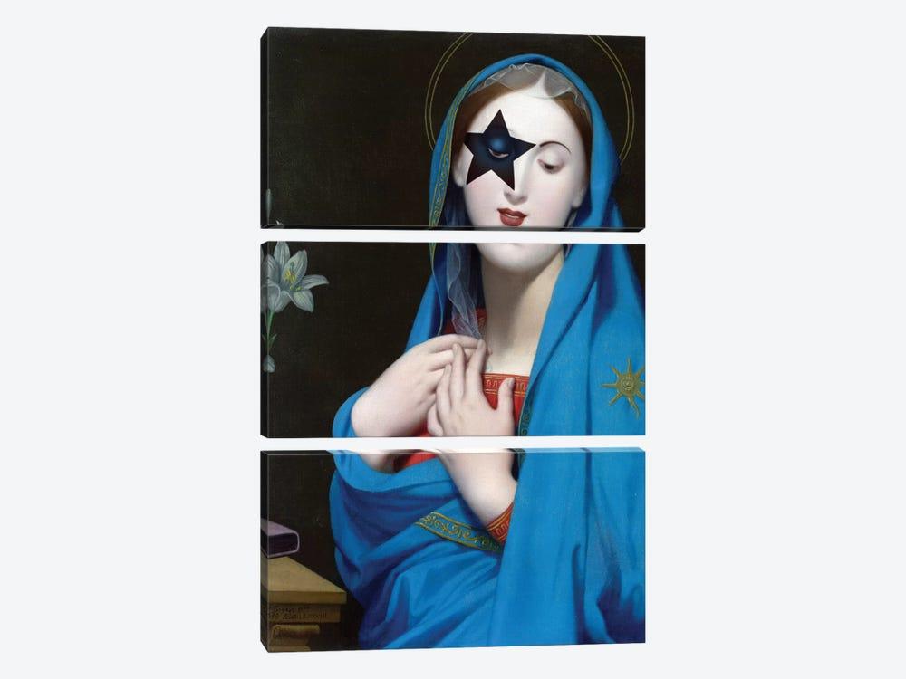 The Starchild by José Luis Guerrero 3-piece Canvas Wall Art