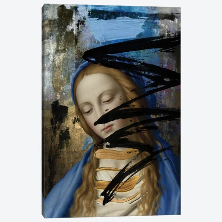 Blue Canvas Print #JLG6} by José Luis Guerrero Canvas Art Print