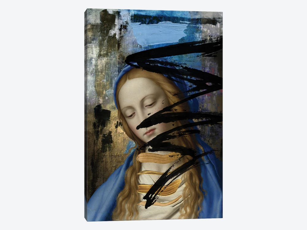 Blue by José Luis Guerrero 1-piece Canvas Art Print