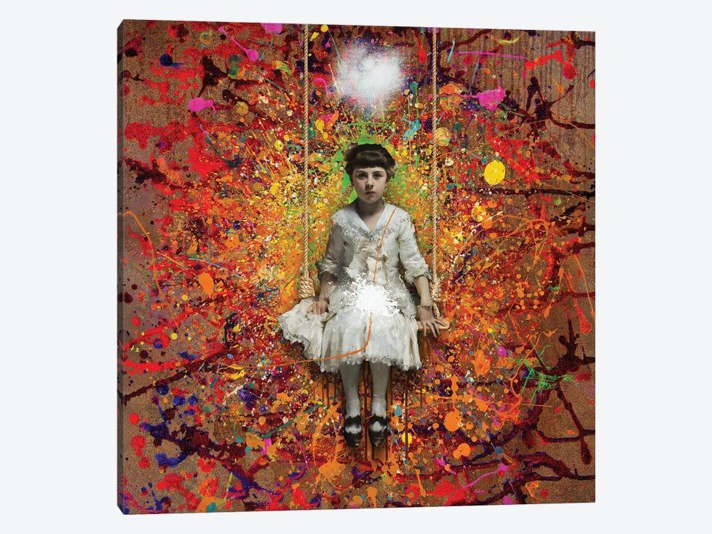 The Swing by José Luis Guerrero 1-piece Canvas Artwork