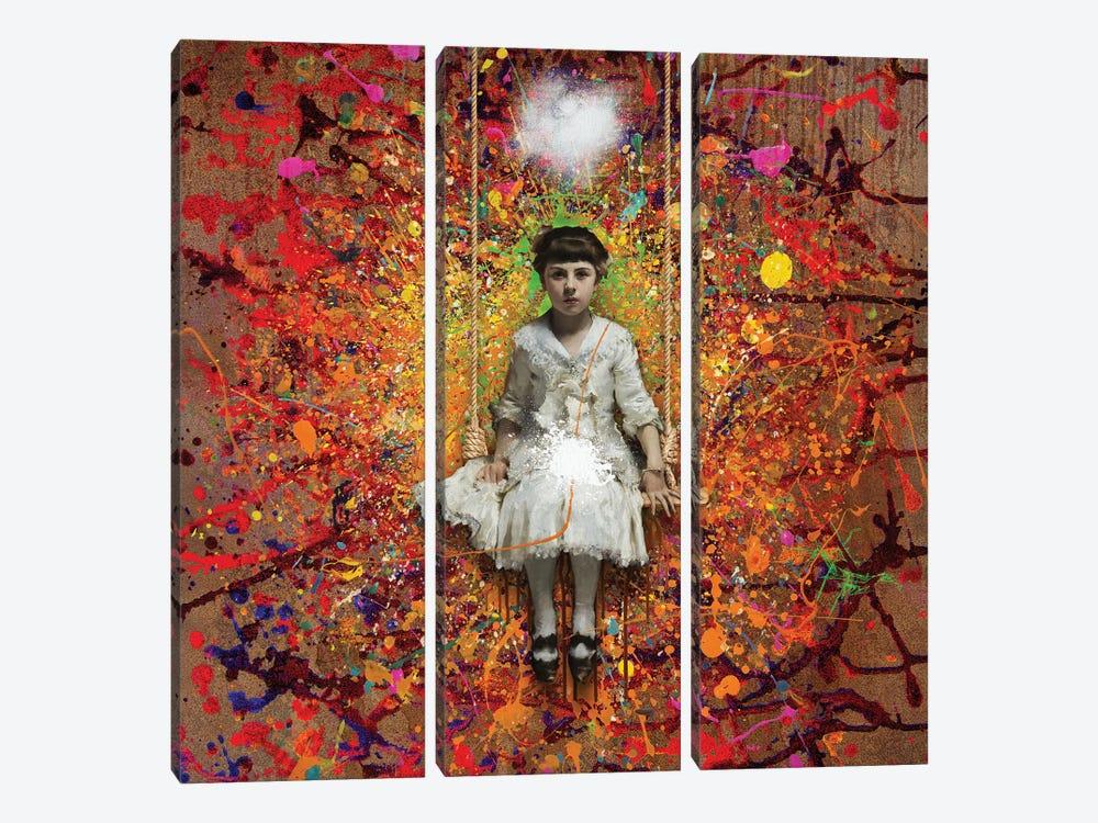 The Swing by José Luis Guerrero 3-piece Canvas Art