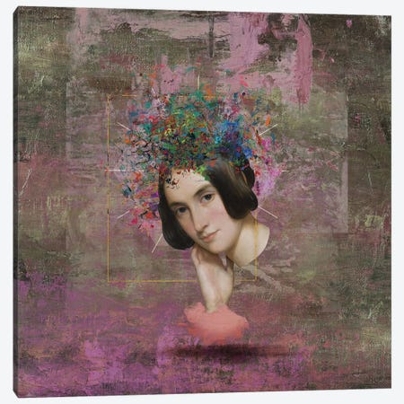 Thinking Of You I Canvas Print #JLG72} by José Luis Guerrero Canvas Wall Art