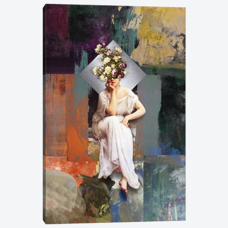 Thinking Of You II Canvas Print #JLG73} by José Luis Guerrero Canvas Artwork