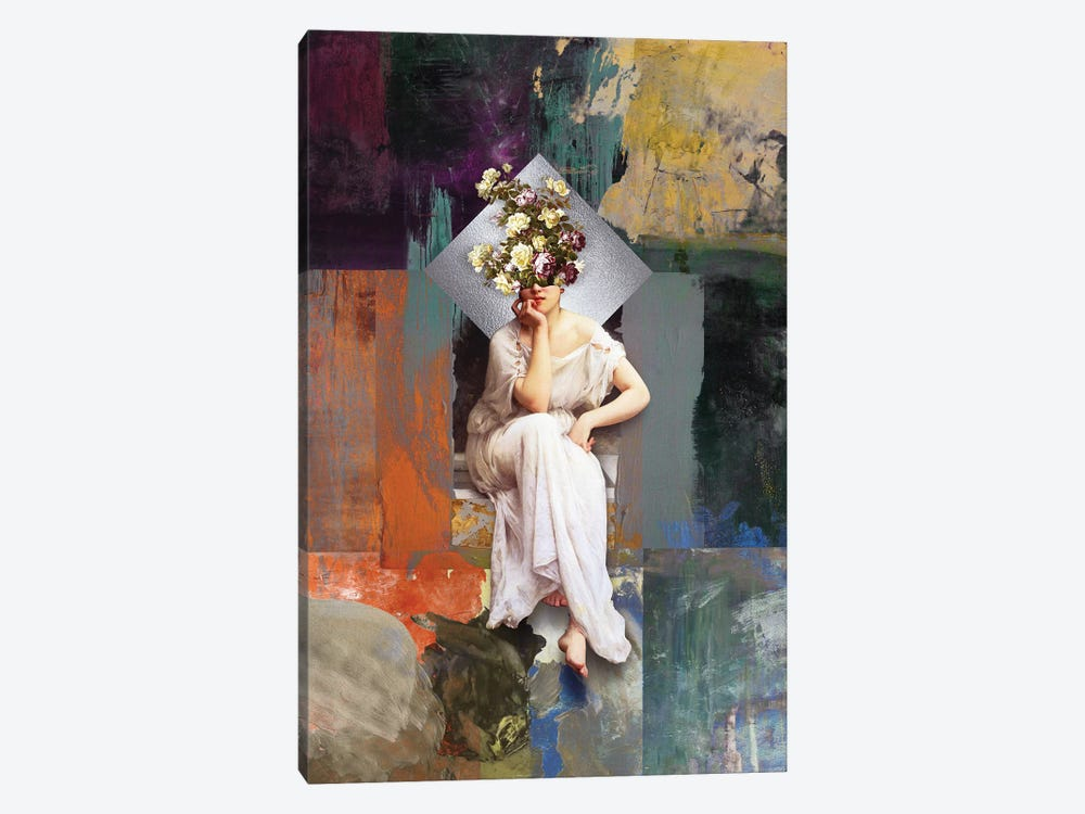 Thinking Of You II 1-piece Canvas Print