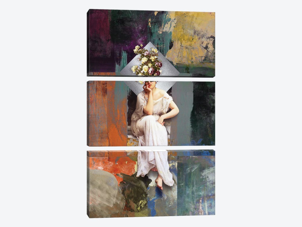 Thinking Of You II 3-piece Canvas Print